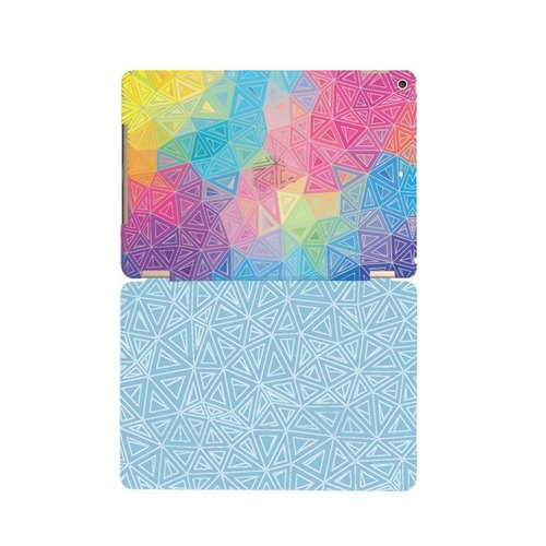 "Reversal GO-365 good day series - colorful summer [] ""iPad Mini"" Crystal Case + Smart Cover (magnetic pole)"
