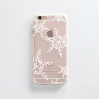 iPhone6 ​​Plus / Mobile Shell / Soft Shell / Mist Snow / Gift
