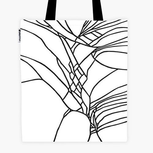 Filament - Canvas Bag - Cracked