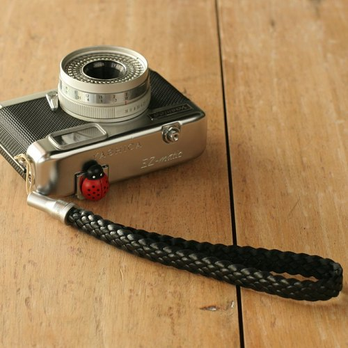 HIPSIONG camera wrist strap -Pinecone (black)