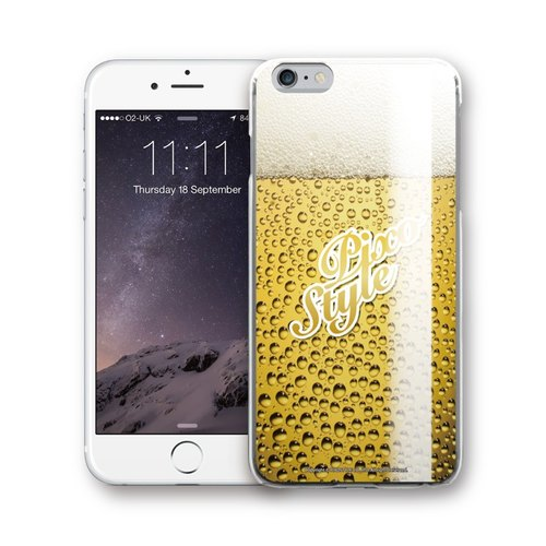 AppleWork iPhone 6 / 6S / 7 Original Design Case - beer PSIP-206