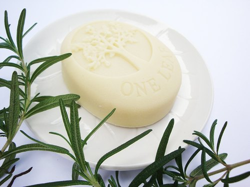 Rosemary lavender soap (oval tree)
