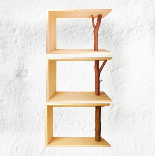 Tree & amp; book / manual bookcase