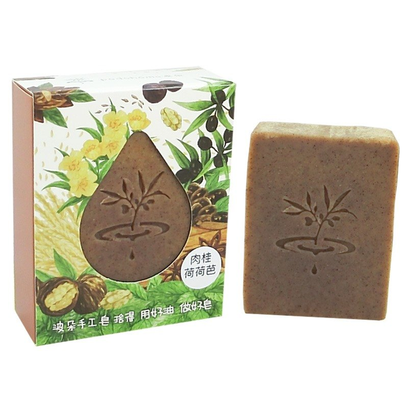 [Duo] wave PoDo cinnamon Jojoba soap - into a single gift set (soap, body care and scalp)