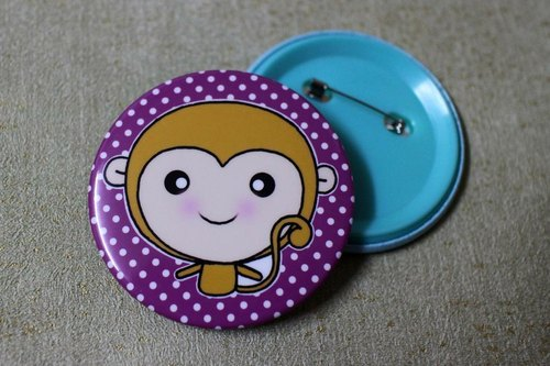 Big badge (monkey)