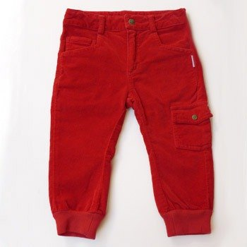 andywawa crimson velvet soft cotton trousers