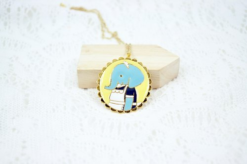 CutFing - ZOO planning, maid elephant necklace