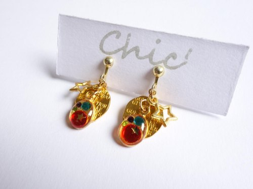 [Toropical] Chic 'tropical earrings