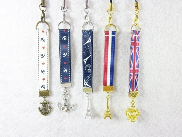 My Daydream Workshop retro pastoral mobile phone chain / mobile phone pendant / mobile phone rope / telephone rope