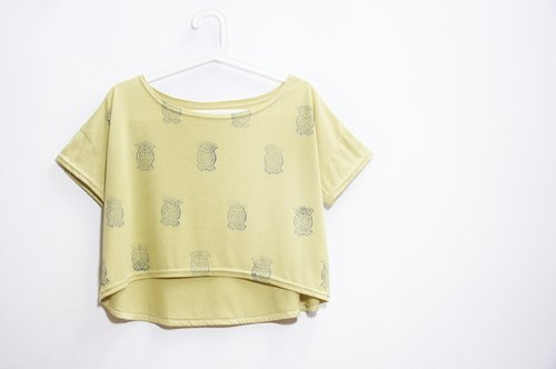 T- handle printing personalized short-owl