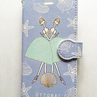 Oceans and Pearls Book Type Case  for iPhone