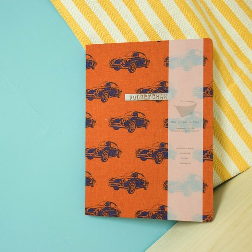 How to eat a bowl handmade cloth book / nostalgic car /