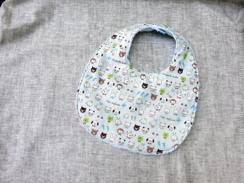 Animal Amusement Park - Button Bib