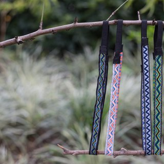 Fine version type elastic webbing headband headbands ::: Triangle :::