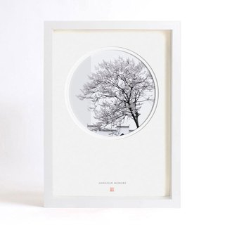 - MEMORY OF JIANGNAN, - Photography in Circular windows - Home decoration