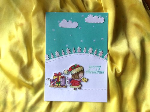 Christmas Card / Christmas gift / Christmas Cards / Christmas exchange gift cards