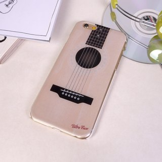 Ultra Sound Acoustic Guitar Folk Print Soft / Hard Case for iPhone X,  iPhone 8,  iPhone 8 Plus,  iPhone 7 case, iPhone 7 Plus case, iPhone 6/6S, iPhone 6/6S Plus, Samsung Galaxy Note 7 case, Note 5 case, S7 Edge case, S7 case