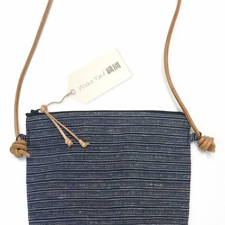 Handwoven Homespun  Fabric Day Bag