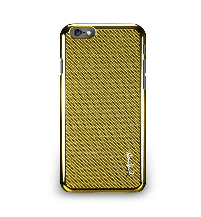 iPhone 6 -The Corium Series - Rear Glass protection - shine gold