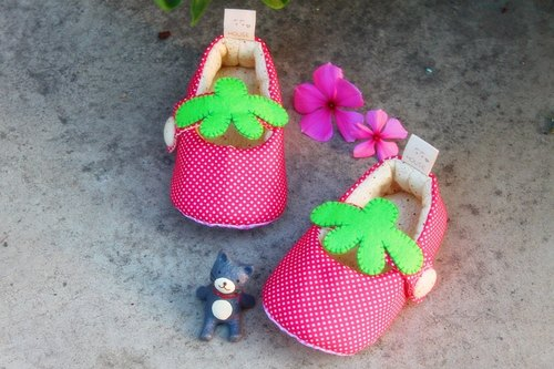 I am a small strawberry toddler shoes