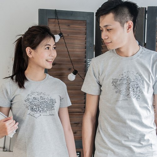 [Very seriously read you] lovers / short sleeve T-shirt
