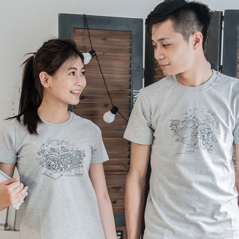 [Read you very seriously] Couples / short-sleeved T-shirt