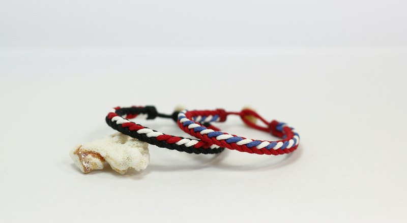 TvT couple style square braided bracelet