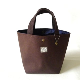 |R• | Palette Tote/Leisure Bag/Universal Bag | Magnetic Button | Coffee