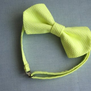 Spring meadow little trip! Cusp double tie (fluorescent yellow-green)