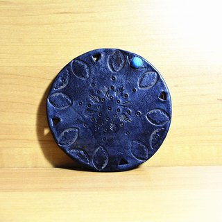 Leather Coaster (14 colors / engraving service)