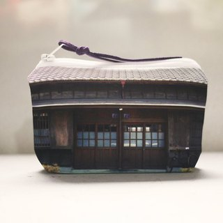 [Good] to travel purse ◆ ◇ ◆ ◆ ◇ ◆ wooden house