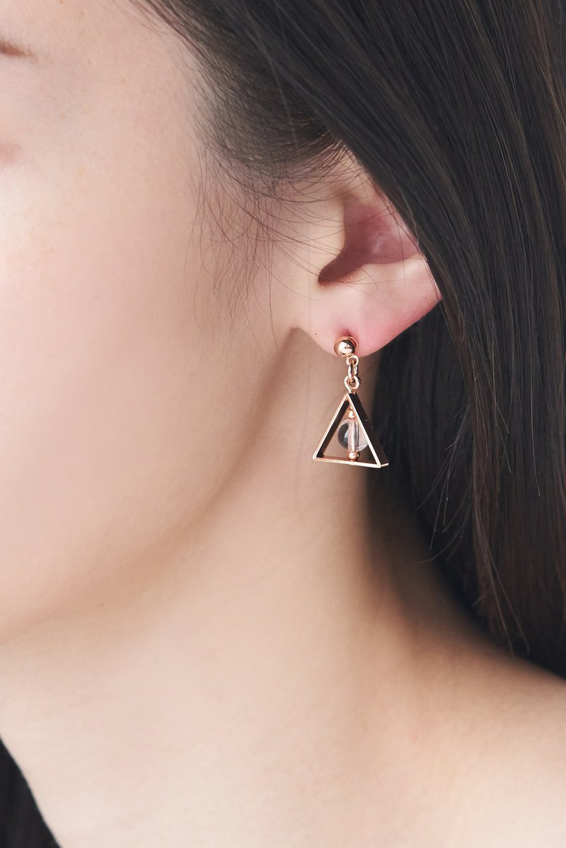 Triangle Hallow Symbol Earrings