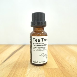 【Green Plus】100% Pure Essential Oils - 20ml Tea Tree Oil
