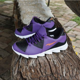 vpep leisure jogging shoes / mysterious purple with / jogging, walking, long distance travel