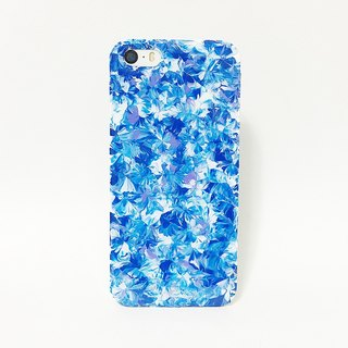 Pastoral Series ll ll mash sky blue lavender oil painting hand-painted wind Phone Case