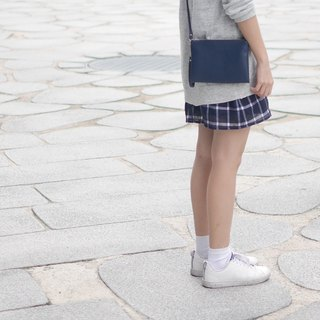SANDWICH CROSSBODY CLUTCH (NAVY)