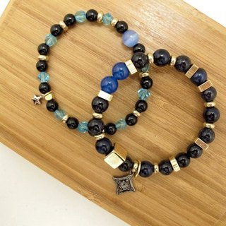 Warm heart from the Bluestar ore bracelet