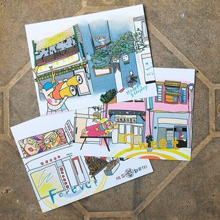 Postcards [Series of Sweet Street] 3pc