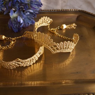 【Choccy Jewelry】Queen Elisabeth伊莉莎白皇冠手環