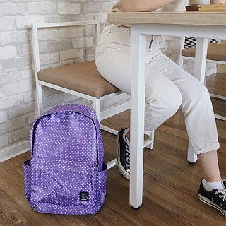 Little to go to school ~ (Lavender violet)