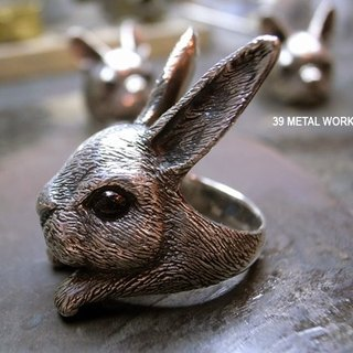 Big Bunny Rings (Sterling Silver Style)
