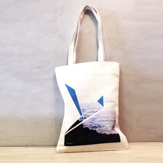 Paper cranes / canvas bag / tote bag