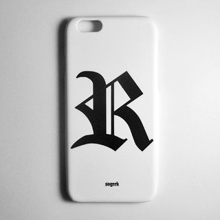 SO GEEK phone shell design brand THE OLD ENGLISH GEEK trend Goethe subsection (white)