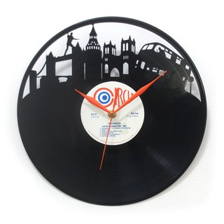 Agent UK [UK Secret Service] vinyl clock