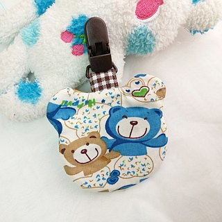 Bear hugging love. Ping Fu bag (can increase 40 embroidered name)