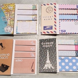 European Wind Memo Pad - Tower / Map / Mail / craft ♥ ACTIVE ♥