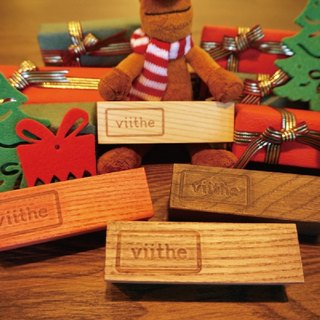 / Viithe / With accompany the wooden seat [Christmas warm companions + carefully Christmas gift packaging]