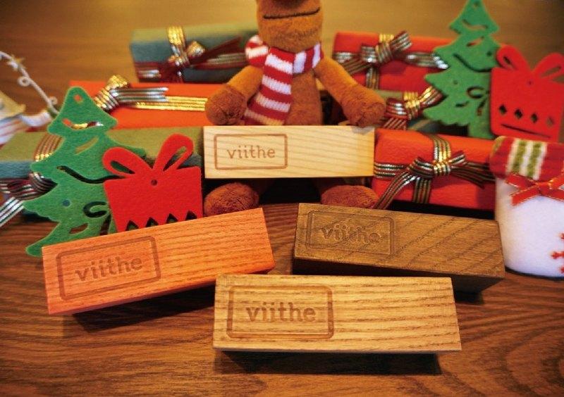 / viithe / With 陪伴木立座 【聖誕節的溫暖陪伴+精心聖誕禮物包裝】