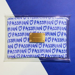 [FULL OF PASSHION Envelope Clutch