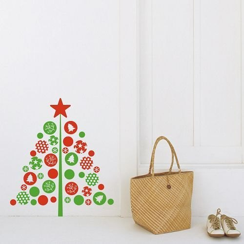 / Free sticking X'mas / Wall Sticker / ECO-Material
